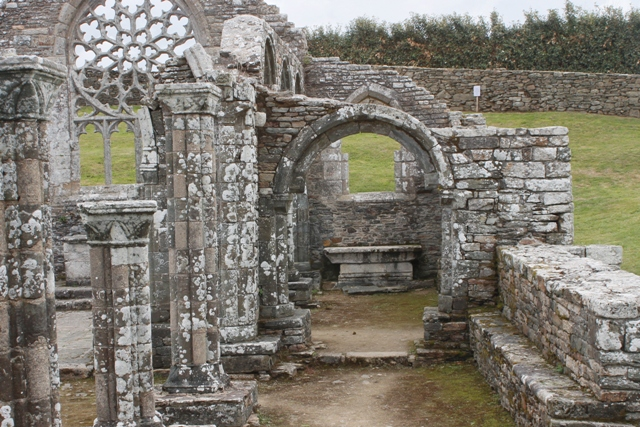 Ruine de la chapelle Languidou à Plovan (23)