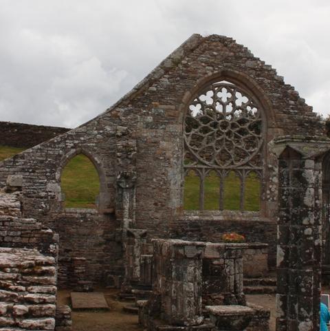 Ruine de la chapelle Languidou à Plovan (26)