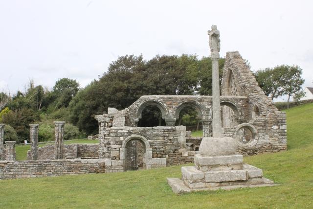 Ruine de la chapelle Languidou à Plovan (35)