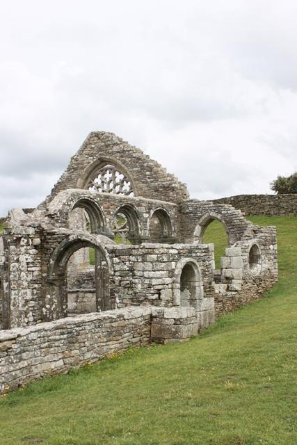Ruine de la chapelle Languidou à Plovan (37)