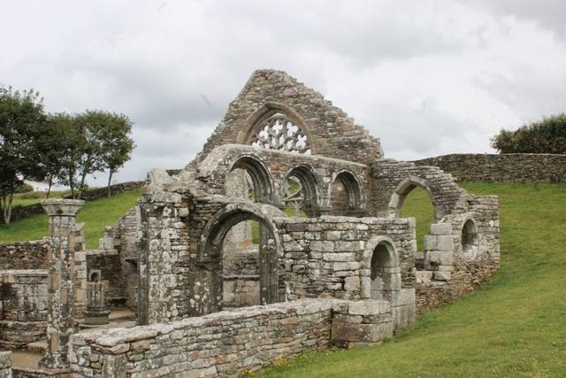 Ruine de la chapelle Languidou à Plovan (38)