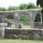 Ruine de la chapelle Languidou à Plovan (49)