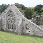 Ruine de la chapelle Languidou à Plovan (53)
