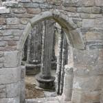 Ruine de la chapelle Languidou à Plovan (58)