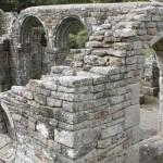 Ruine de la chapelle Languidou à Plovan (59)