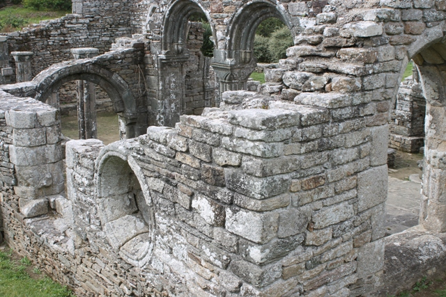 Ruine de la chapelle Languidou à Plovan (60)