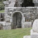 Ruine de la chapelle Languidou à Plovan (61)