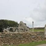 Ruine de la chapelle Languidou à Plovan (63)