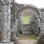 Ruine de la chapelle Languidou à Plovan (66)